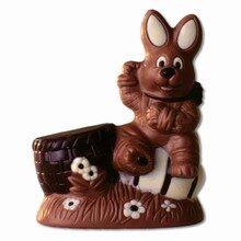 Bunny with Egg & Basket