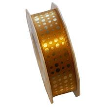 Golden polka dot (1inch)