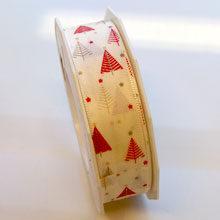 Enchanting winter ribbon (1in)