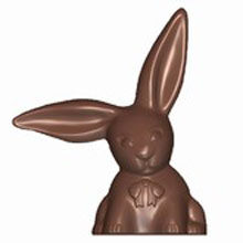 Rabbit with Long Ears Double Mold