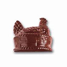 Hen in basket chocolate mold