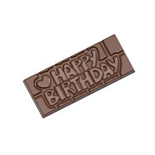 Happy Birthday bar