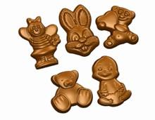 Moule chocolat animaux du printemps
