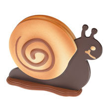 """""""Polly"""" the snail, thermoformed mould"""