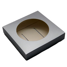 Base for egg / silver sphere (0.78in)