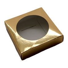 Base for egg / sphere Gold (2.16in)
