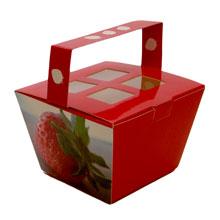 """Boîte à moulage, """"Barquette fraisier"""""""