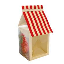 "Molding box, ""Strawberry Stripe Canopy"""