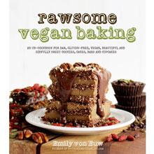 """""""Rawsome vegan baking, par Emily von Euw"""