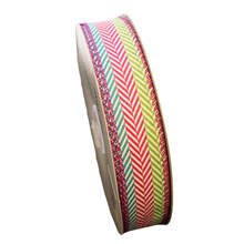 Ribbon with chevron pattern (1in)