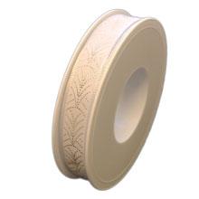 White art deco ribbon (0.6in)