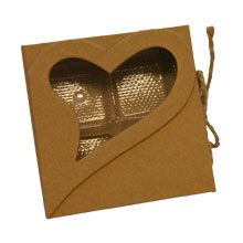 """Rigid box """" heart sincere"""" (4ct)"""