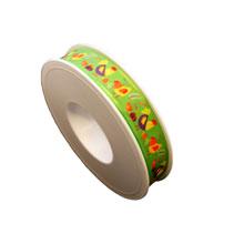 Ruban basse-cour vert (15mm)