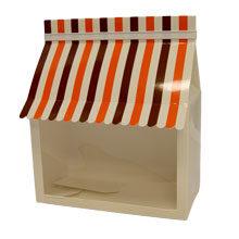 "Molding box, ""Striped canopy"""