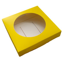 Base pour oeuf / sphère jaune