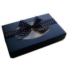 BOX 1/2LB RECTANGLE, SAPHIR