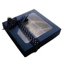 1/2LB SQUARE BOX, SAPHIR