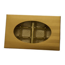 1/2LB RECTANGULAIRE COLLECTION GOLD STRIPES