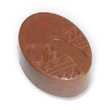 Chocolate Mold, oval praline