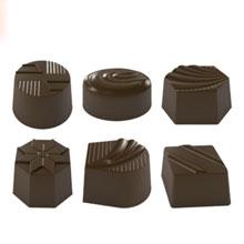 Moule chocolat, assortiment