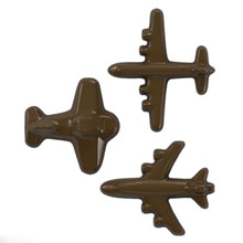Moule chocolat, Avion