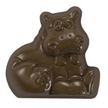 Moule chocolat hippopotame