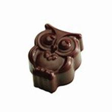 Moule chocolat praline hibou