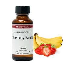 Arôme de fraise et de banane