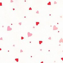 Red and pink hearts cello bags