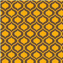 Sherazade Yellow transfer sheets