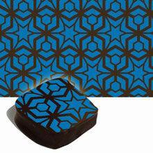 Blue pattern transfer sheets