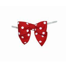 Red Polkadot Bow Twist Ties