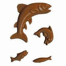 Assorted Fish and Dolphin Mold  (CC-A94)