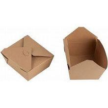 "Kraft ballotin box ""to go"" (medium)"