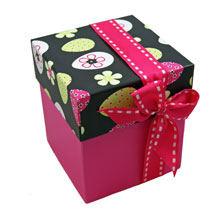 Rigid 4 tiered Koko box