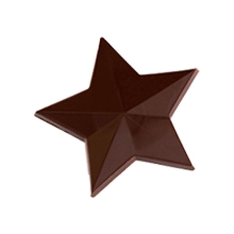 Moule chocolat étoile