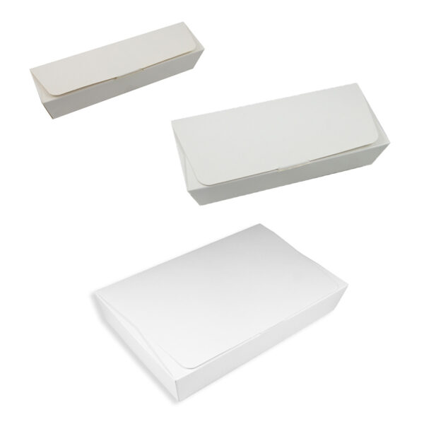 Flat ballotins, WHITE