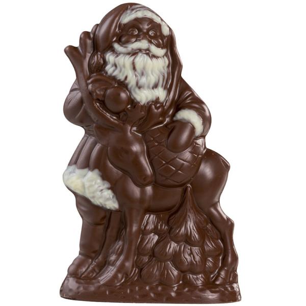 Père Noël avec Renne