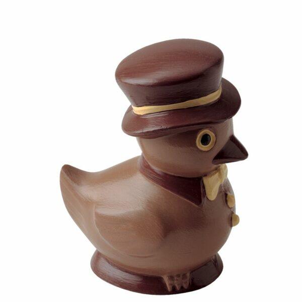 Coq avec un chapeau