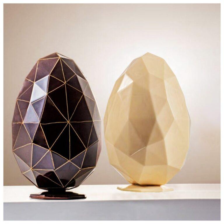 Diamond Chocolate Egg Mold