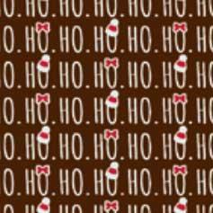"""FEUILLES DE TRANSFERT, """"HO HO HO"""""""