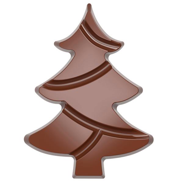 MOULE À CHOCOLAT TABLETTE ARBRE NOËL