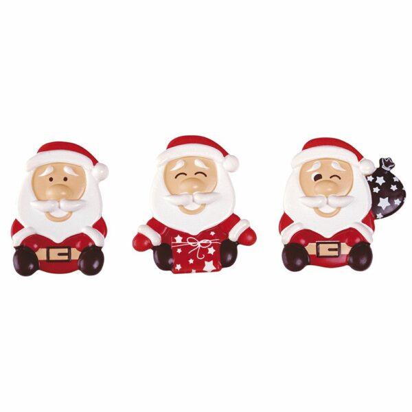 Blister Santa Claus Mixed