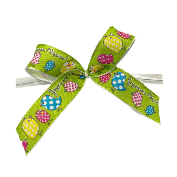 EASTER BOWS, LIME GREEN