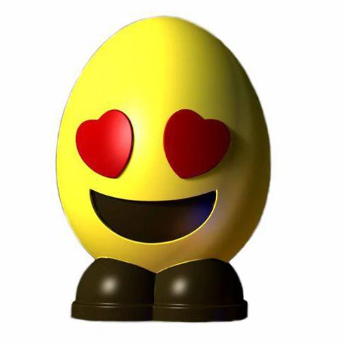 Egg emoji Hearts (A)