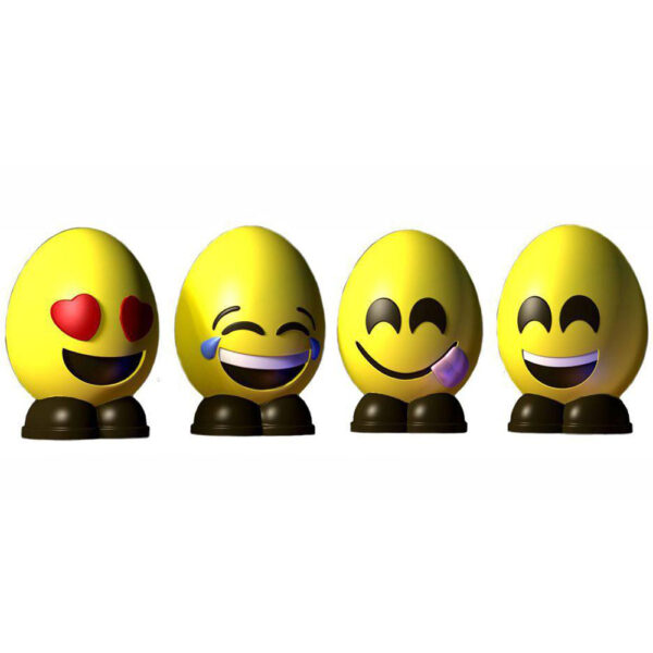 Egg emoji mould (A)