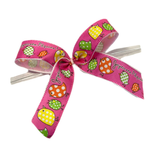 Easter bows, pink