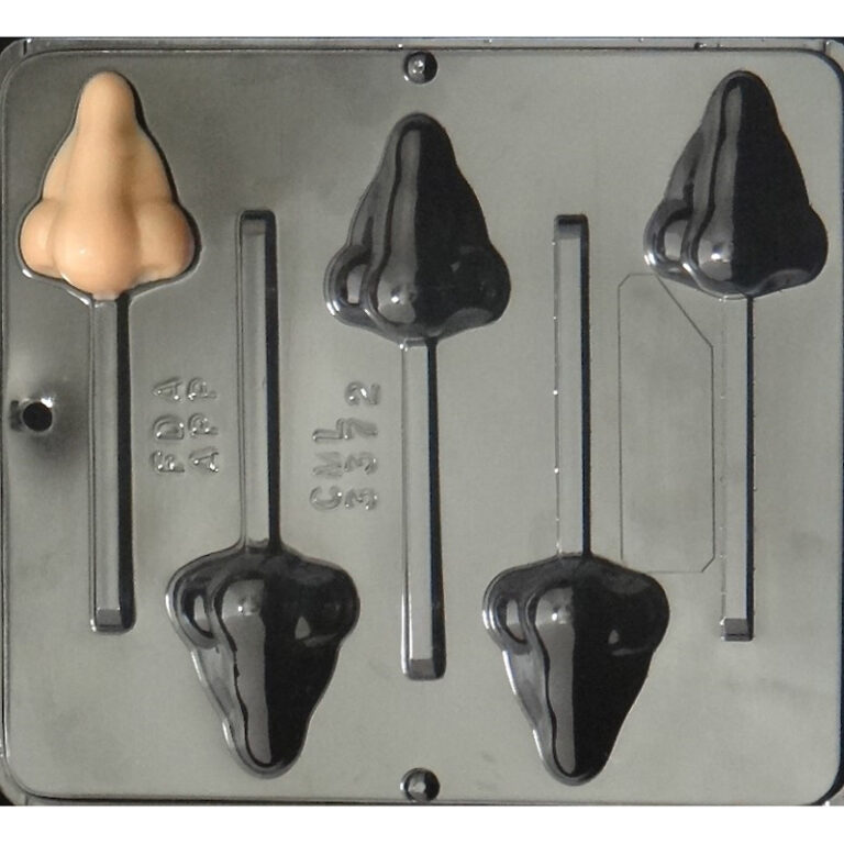Nose Lollipop Chocolate Candy Mold