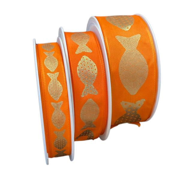 Fish ribbon, orange