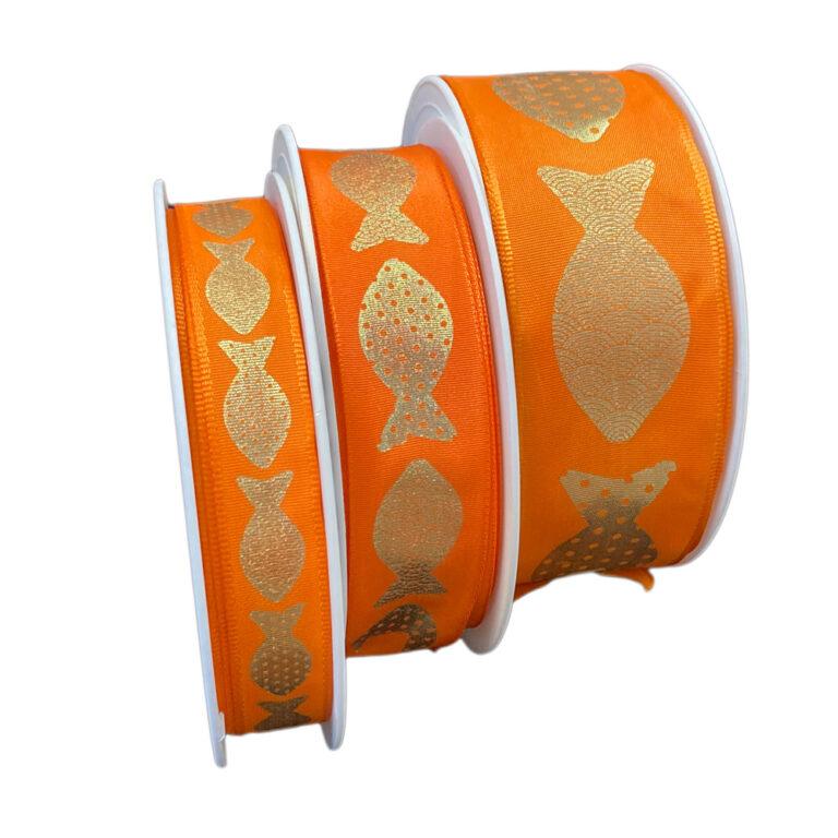 Ruban Poisson, orange